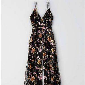 AE printed floral jumpsuit